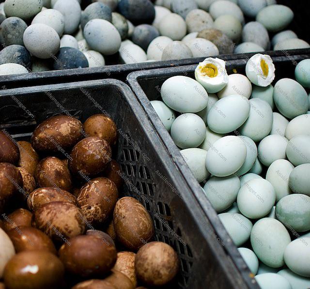 Odd Asian eggs