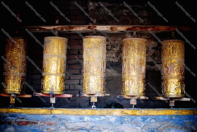 Prayer Wheels keep spinning