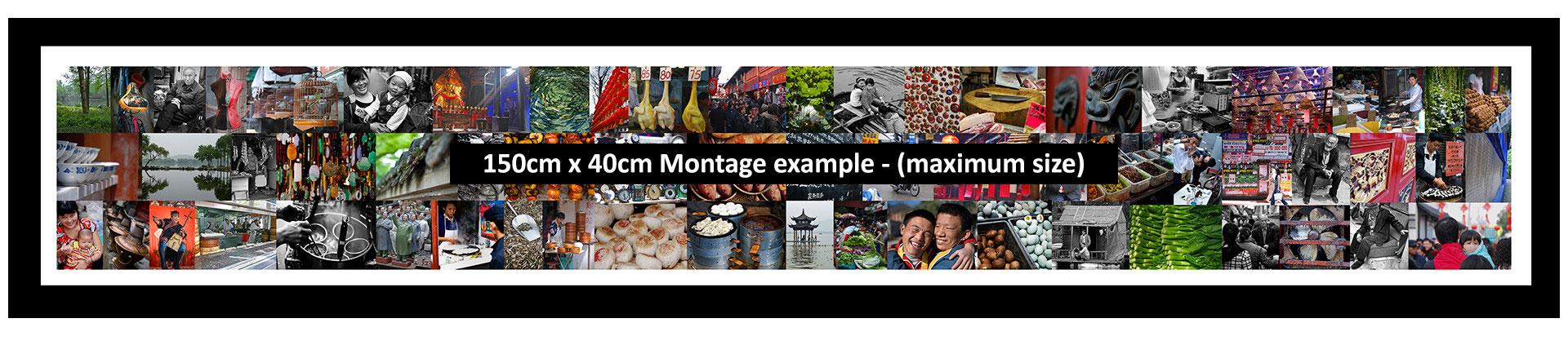 Maxium size Montage