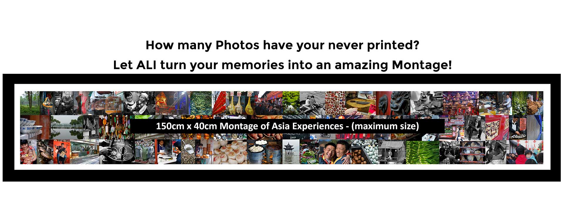 Large Montage of your Images